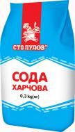 Сода харчова 300 г Сто пудов