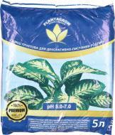 Ґрунтосуміш PLANTAGROW для декоративно-листяних рослин 5 л