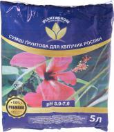 Ґрунтосуміш PLANTAGROW для квітучих рослин 5 л