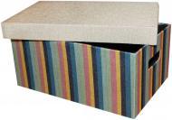 Короб для зберігання текстильний Natural House FB06-L із кришкою 170x260x380 мм