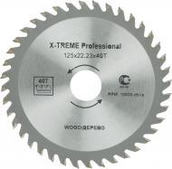 Пиляльний диск X-Treme 125x22.2x1.7 Z40