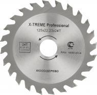 Пиляльний диск X-Treme 125x22.2x1.7 Z24