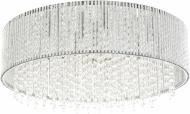 Люстра стельова Інтерклас НСБ 06-10хХХ-009 10x40 Вт G9 прозорий C0207-10D