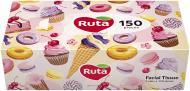 Серветки Ruta Women Brick 150л 2ш білі 150 шт.