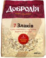 Пластівці Добродія™ Суміш пластівців 7 злаків 400 г