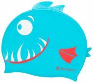 Шапочка для плавания TECNOPRO Cap Silicone X Kids 289406-545 one size голубой