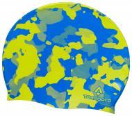 Шапочка для плавания TECNOPRO Cap Silicone X Junior 289412-900687 one size сине-желтый