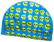 Шапочка для плавания TECNOPRO Cap PU Flex X Junior 289433-901545 желто-голубой