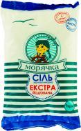 Сіль морська харчова йодована Екстра (4820169780119) 1000 г Морячка™