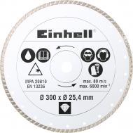 Диск алмазний відрізний Einhell 300x25,4 тротуарна плитка , цегла , камінь 4301178