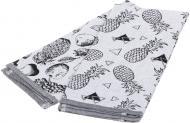 Набор полотенец кухонных Фрукты 2 шт. 40x60 см Homeline серый с рисунком