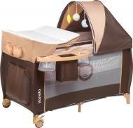 Манеж-ліжко Lionelo Sven Plus beige stripes LO.SV05