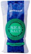 Сіль морська Гурме Йодована дрібний помел 1 кг Deltasal