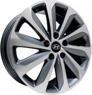 Диск колісний REPLICA Hyundai HY1247Jx175114,3H2 ET48 DIA67,1