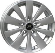 Диск колісний REPLICA Hyundai HY1056,5Jx175114,3H2 ET45 DIA67,1