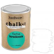 Краска LuxDecor Chalk-it pure white мат 0,75 л