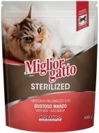 Корм Morando MigliorGatto Sterilized with Veal для стерилізованих котів, з телятиною 400 г