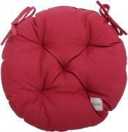 Подушка на стілець Scotland Brown d40 см бордо La Nuit