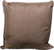 Подушка декоративна Scotland Green з кантом 45x45 см коричневий La Nuit