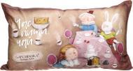 Подушка декоративна Аліса Посиденьки 30x50 см світло-коричневий Gapchinska