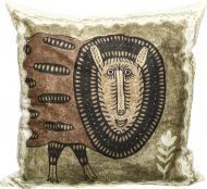 Подушка декоративна Мир землі 43x43 см з малюнком Prima Mariia