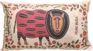Подушка декоративна Мир землі квіти 30x50 см з малюнком Prima Mariia