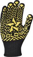 Рукавички Doloni з покриттям ПВХ крапка XL (10) 562