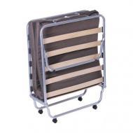 Кровать раскладная AMF Art Metal Furniture Классик с матрасом Фортуна-46 190х80 см алюминий