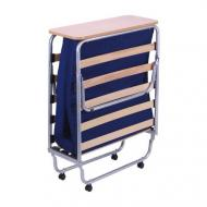 Кровать раскладная AMF Art Metal Furniture Классик-П с матрасом Фортуна-20 190х80 см алюминий