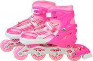 Роликовые коньки Shantou SC190153 рожевый р. 38-43