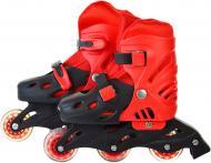 Роликовые коньки Shantou SC190155 червоний р. 30-34