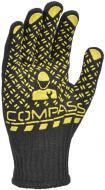 Рукавички Compass з покриттям ПВХ крапка XL (10) 5705