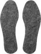 Устілки для взуття з повсті Comfort Textile Group 37 сірий