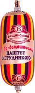 Паштет Бащинський з грудинкою 125 г 4823064800630