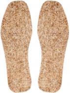 Устілки для взуття з натуральної сировини Comfort Textile Group 40 бежевий