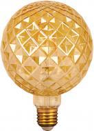 Лампа світлодіодна Gauss Filament Сarat Gold 105802004 G120 4 Вт E27 2400 К 220 В прозора