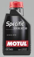 Моторне мастило Motul Specific SAE 5W-40 1л