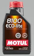 Моторне мастило Motul 8100 Eco-lite SAE 0W-20 1л