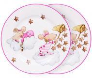 Набір десертних тарілок Дівчинка-мишка 19 см 2 шт. 924-488 Lefard