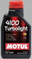 Моторне мастило Motul 4100 Turbolight SAE 10W-40 1л