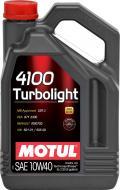 Моторне мастило Motul 4100 Turbolight SAE 10W-40 5л