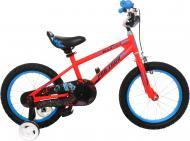 Велосипед Goldenwheel червоний 1604-red