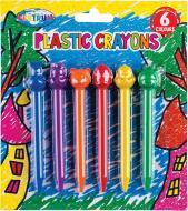 Набір пастельних олівців воскових 6 кольорів 88805 Centrum