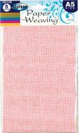 Папір для дизайну Weaving А5 5 кольорів 80312 Centrum