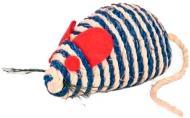 Іграшка для котів Trixie миша мотузкова 10см