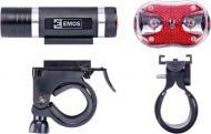 Ліхтар велосипедний Emos передній + задній