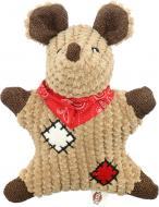 Іграшка для собак Trixie Мишка з латками 19 см 36030