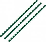 Пружина для брошурування D&A пластикова 12 мм зелена 1220201120306 100 шт.