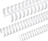 Пружина для брошурування D&A 6,4 мм 100 шт. біла 1220202060130 100 шт.