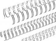 Пружина для брошурування D&A 6,4 мм 100 шт. сріблястий 1220202060730 100 шт.